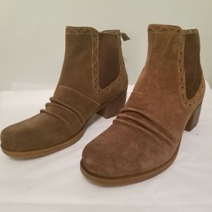 Genuine Suede Earth Boots